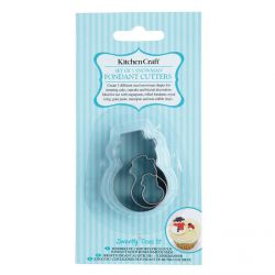 "Set 3 Cookie Cutters ""Bear"""