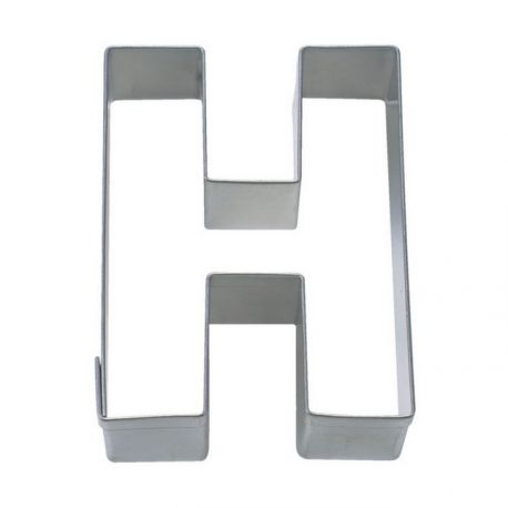 """Cookie Cutter """"Letter H"""""""