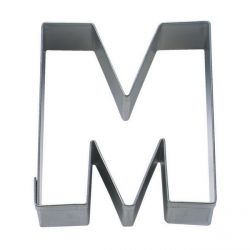 "Cookie Cutter ""Letter M"""