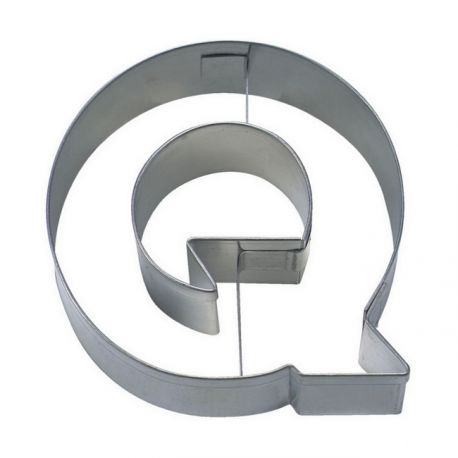 """Cookie Cutter """"Letter Q"""""""