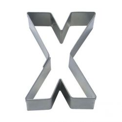 """Cookie Cutter """"Letter X"""""""