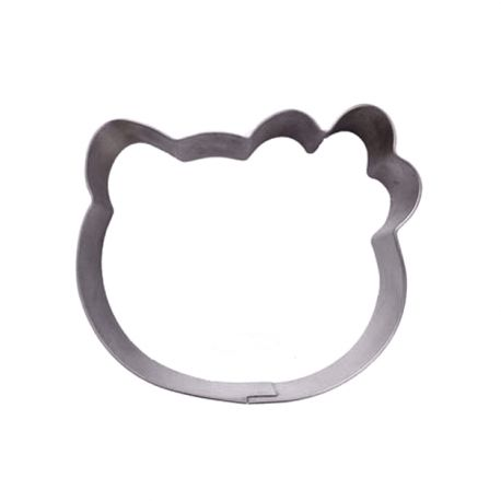 """Cookie Cutter """"Hello Kitty Face"""""""