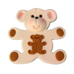 "Set 3 Cookie Cutters ""Teddy Bear"""