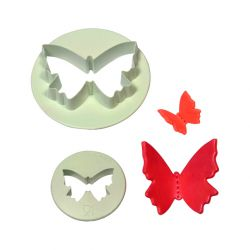 "Set 2 Cookie Cutters ""Butterfly"""