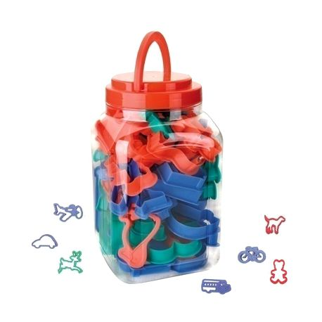 """Set 40 Cookie Cutters """"Animals & Vehicles"""""""