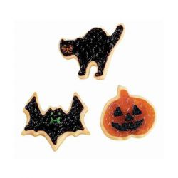 "Set 4 Cookie Cutters ""Halloween"""