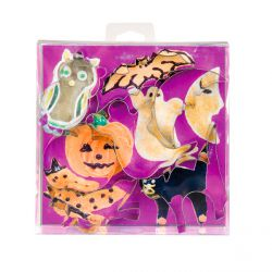 "Set 7 Cookie Cutters ""Halloween"""
