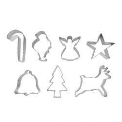 """Set de 7 cortadores """"Navidad"""""""