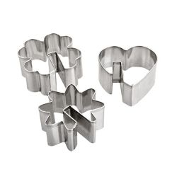 "Set 3 Cookie Cutters ""Café Gourmand"""