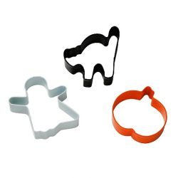 "Set 3 Cookie Cutters ""Halloween"""