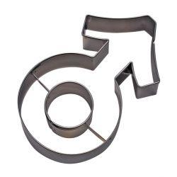"""Emporte-pièce """"symbole masculin"""" - Mars"""