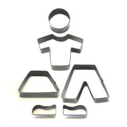 "Cookie Cutter ""Boy & Girl"""