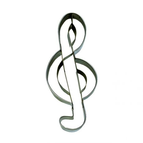 """Cookie Cutter """"Treble Clef"""""""