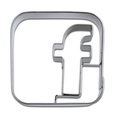 """Emporte-pièce """"Facebook"""""""