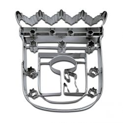 "Cookie Cutter ""Coat of Arms of Madrid"""
