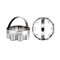 Fluted Round Cookie Cutter Ø 7,5cm