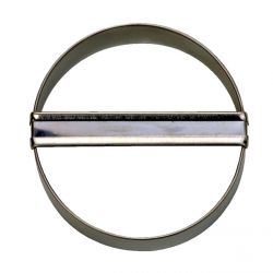 Plain Round Cookie Cutter Ø 6cm - STADTER