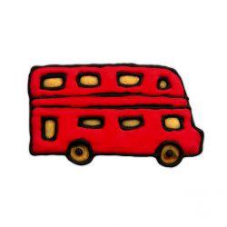 """Emporte-pièce """"Bus anglais"""""""