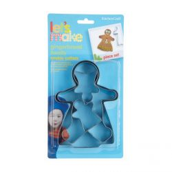 """Set 4 Cookie Cutters """"Gingerbread Family"""""""