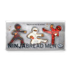 "Set 3 Cookie Cutters ""NINJABREAD MEN"""