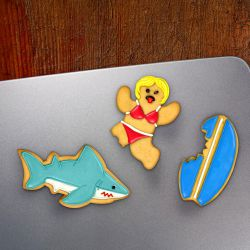"Set 3 Cookie Cutters ""Snack Attacks"""