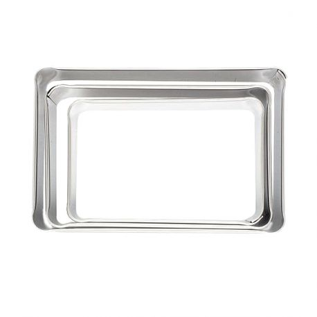 """Set 3 Cookie Cutters """"Rectangle"""""""