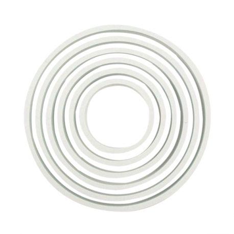 """Set de 6 emporte-pièces """"Cercle"""" - PME"""