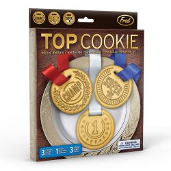 "Set 3 Cookie Cutters ""Top Cookie"""