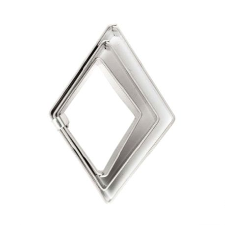 "Set 3 Cookie Cutters ""Diamond"""