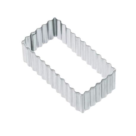 """Cookie Cutter """"Fluted Rectangle"""""""