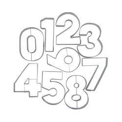 "Set de 9 cortadores ""Numeros"" - STADTER"
