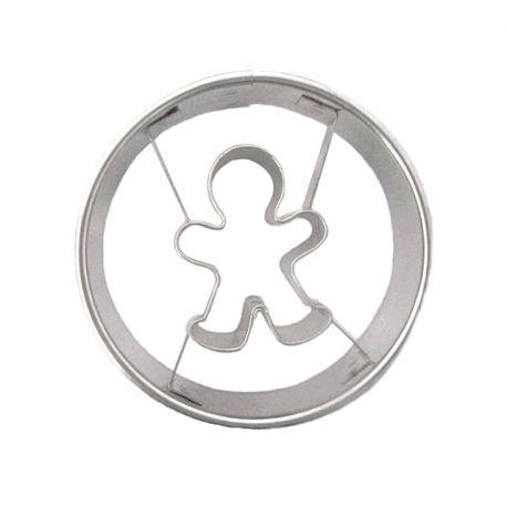 """Cookie Cutter """"Mini Gingerbread Man"""""""