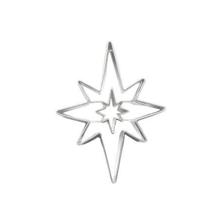 """Cortador """"Estrella de Navidad"""""""