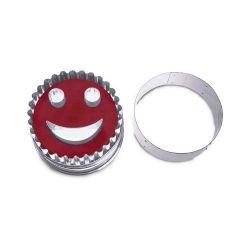"""Linzer Cookie Cutter """"Smile"""""""