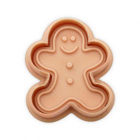 """Plunger Cutter """"Gingerbread Man"""""""
