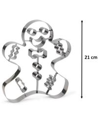 "Cookie Cutter ""Gingerbread Man"" - 21cm"