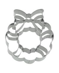 "Cookie Cutter ""Christmas Wreath"" - BIRKMANN - 7,5cm"