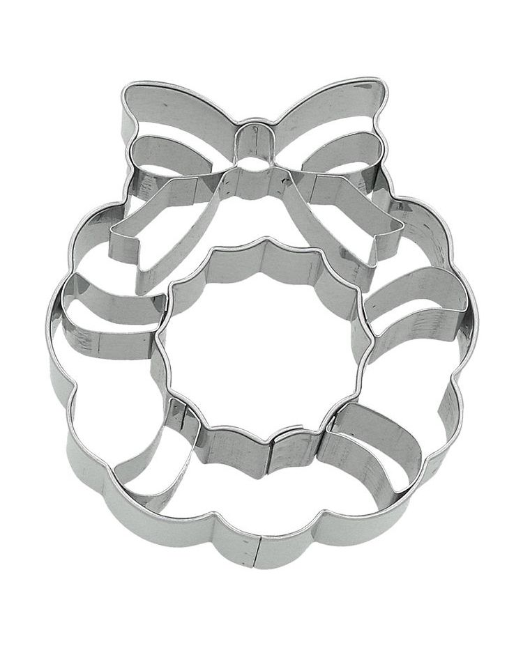 "Cookie Cutter ""Christmas Wreath"" - BIRKMANN - 7,5cm"