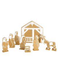 "Set 10 Cookie Cutters ""Holy Family"" - EDDINGTONS"