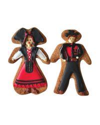 "Cookie Cutter ""Alsatian Couple"" - 8cm"