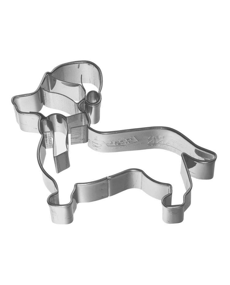 "Cookie Cutter ""Christmas Dog"" - BIRKMANN - 7cm"