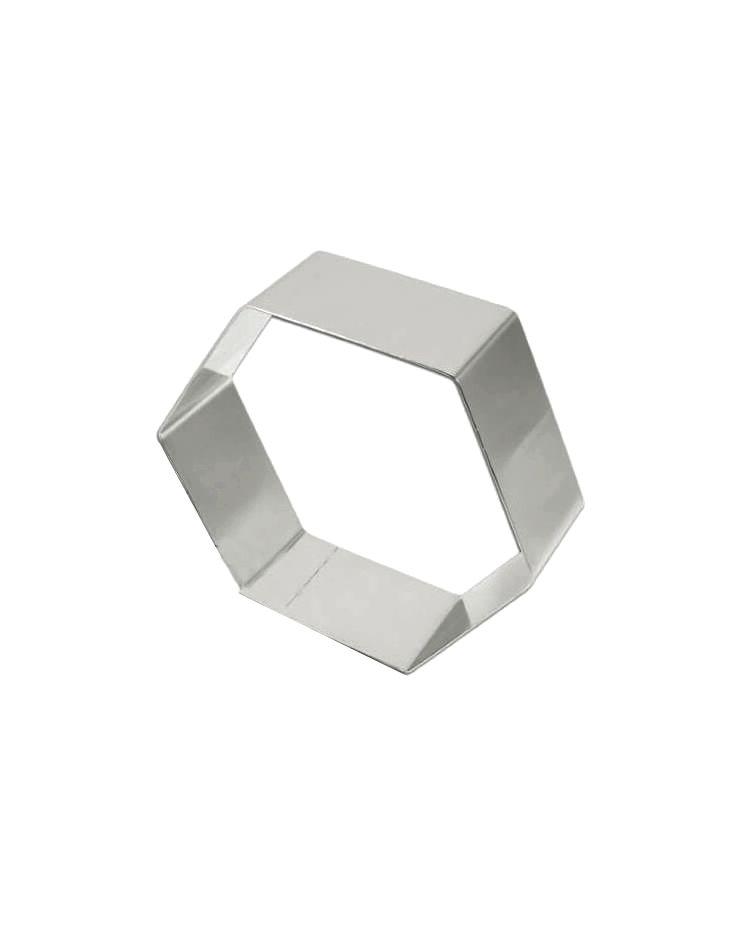 """Cookie Cutter """"Hexagon"""""""